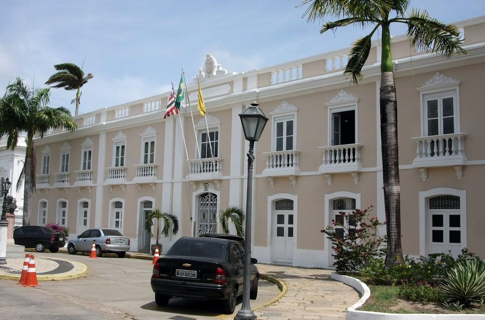 Sede da Prefeitura de São Luís — Foto: Flora Dolores/O Estado