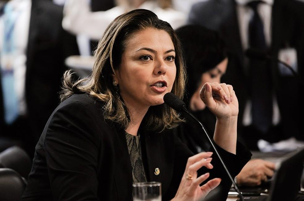Leila Barros, senadora, 2019 — Foto: Jane de Araújo/Agência Senado