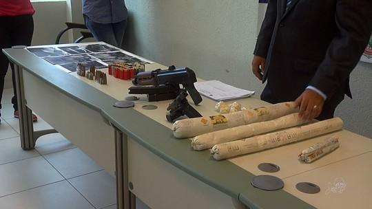 Suspeitos de ataques a bancos são presos com armas e explosivos no CE
