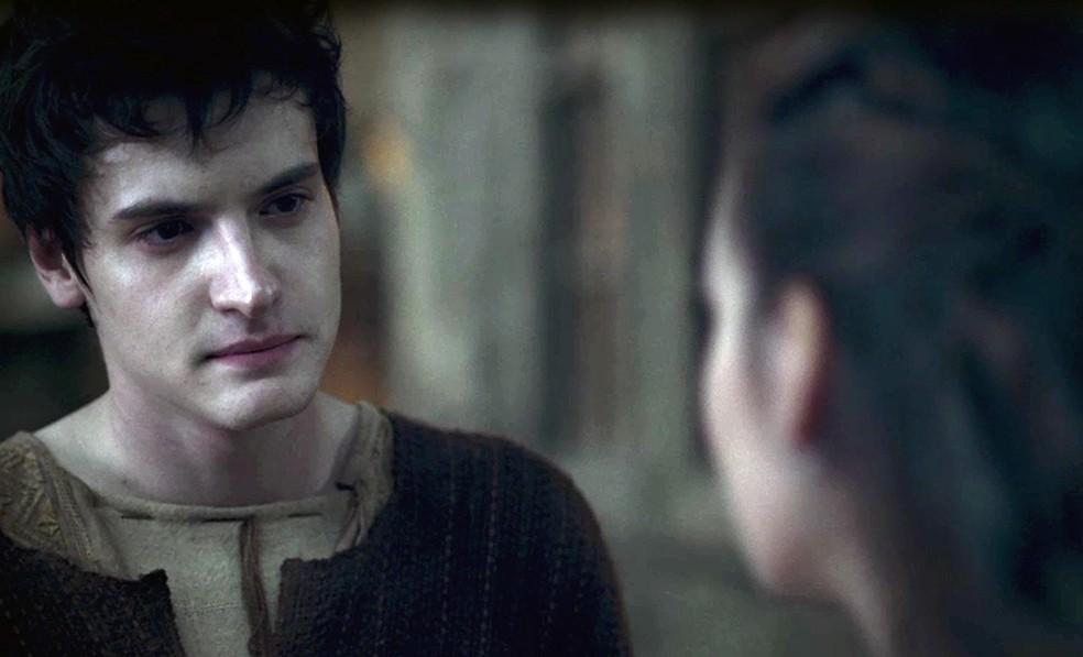 O rapaz fica triste com a atitude da amada e deseja colocar um ponto final definitivo no relacionamento (Foto: TV Globo)