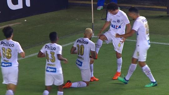 Os gols de Santos 5 x 1 Luverdense pelas oitavas da Copa do Brasil 2018
