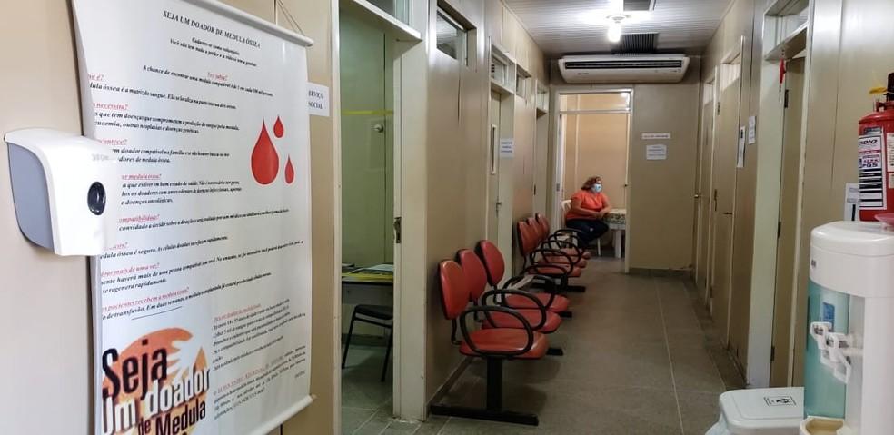 Hemocentro de Mossoró precisa de sangue do tipo O negativo — Foto: Isaiana Santos/Inter TV Costa Branca