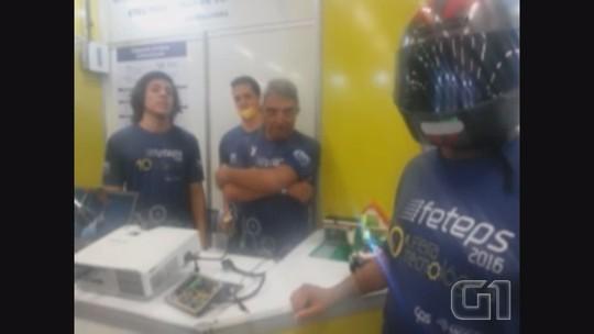 Grupo cria capacete inteligente para aumentar segurança de motociclistas