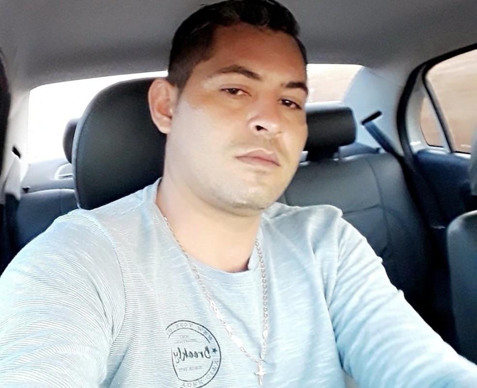 Marcos Rogério Lima é suspeito de matar a ex-mulher no Distrito de Caravaggio, município de Sorriso — Foto: Facebook/Reprodução