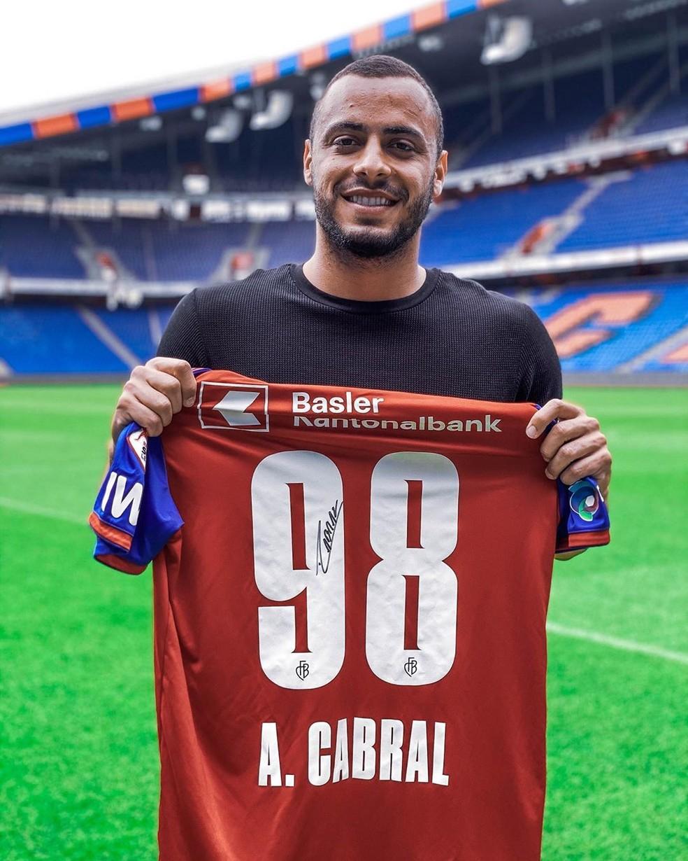 Arthur Cabral, atacante do Basel — Foto: FC Basel/Divulgação