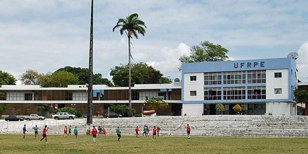 Campus da UFRPE, no Recife (Foto: Vanessa Bahé/G1)