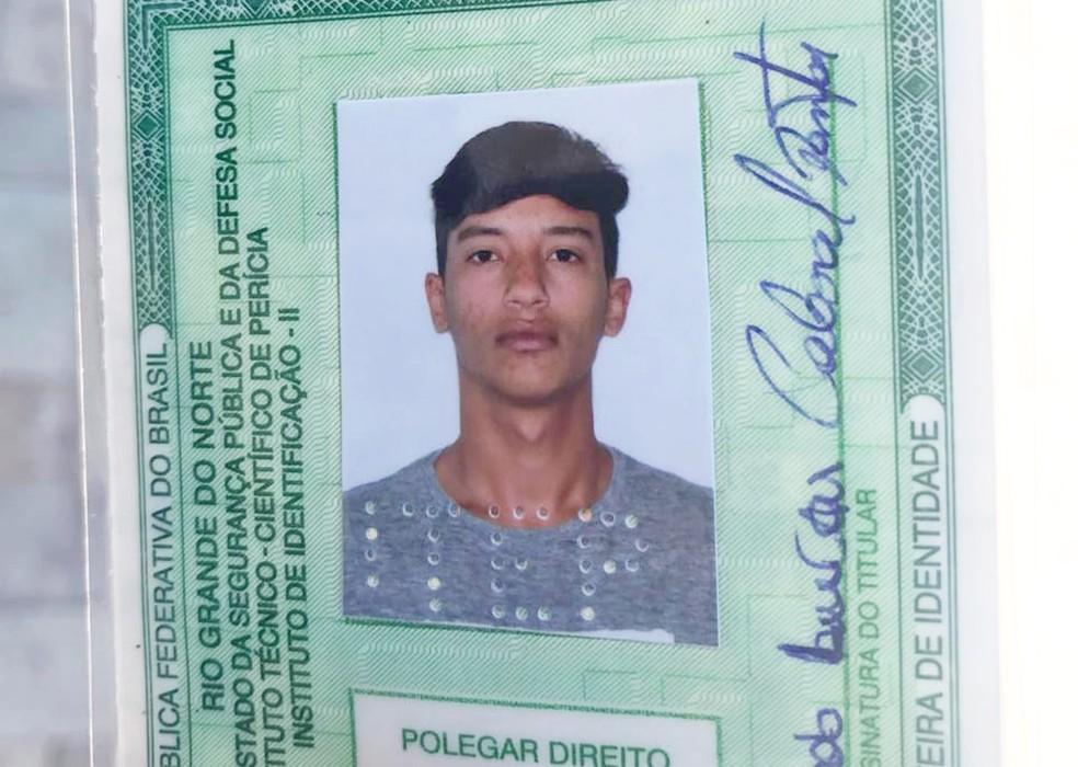 Thomas Eduardo Lucas Cabral Dantas — Foto: Kleber Teixeira/Inter TV Cabugi