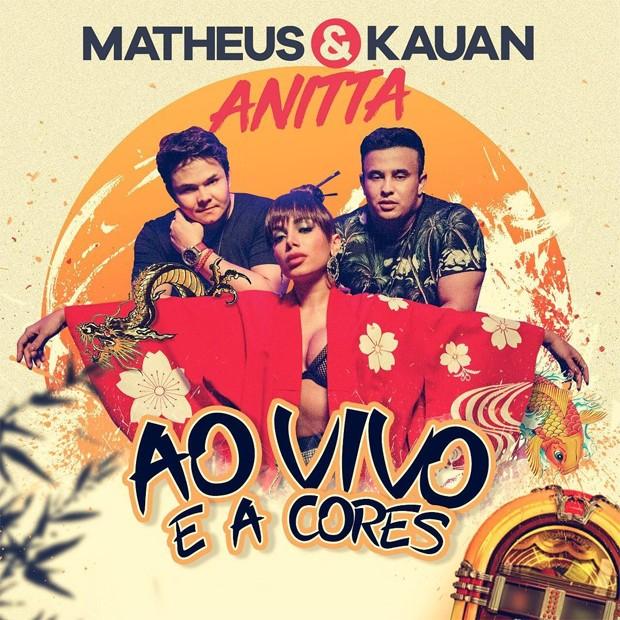 Matheus & Kauan com Anitta (Foto: Reprodução/Instagram)