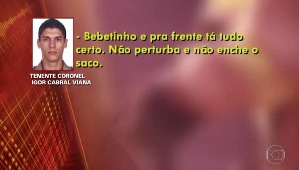 Bombeiros que cobravam propina para dar alvarás chamavam dinheiro de 'bebetinho' (Foto: Reprodução / TV Globo)