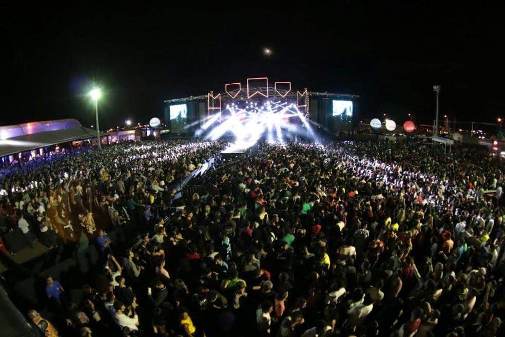 O Pátio de Eventos Ana das Carrancas começou a funcionar no São João de 2012 (Foto: Ascom / Prefeitura Municipal de Petrolina)