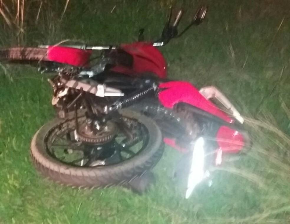 Casal estava em moto e foi atingido por carro em rodovia de Araçatuba (Foto: Arquivo Pessoal)