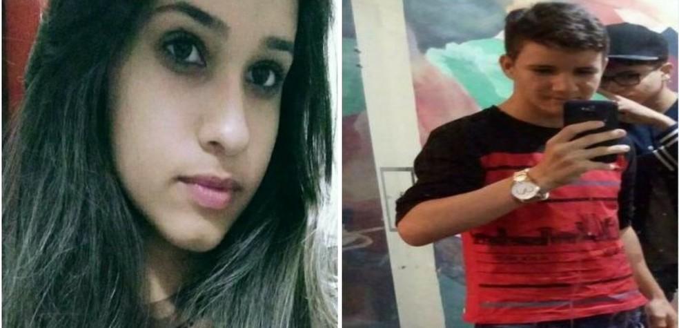 Jéssica Lorrainy e Luiz Neto desapareceram na cidade de Santa Cruz (Foto: Divulgação)