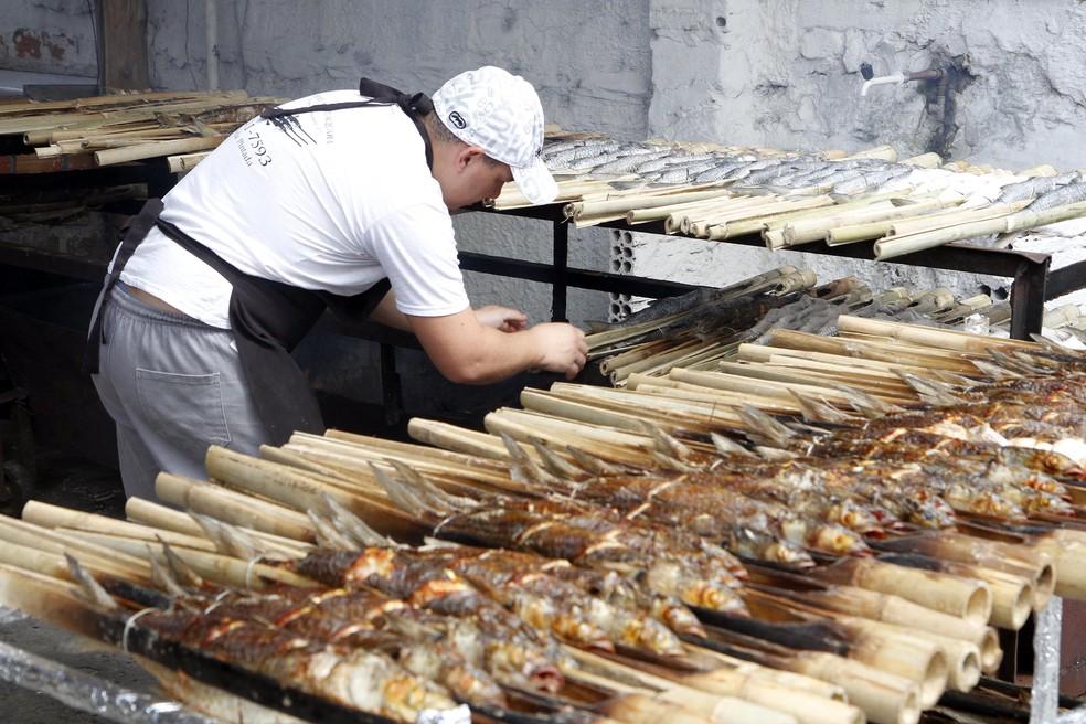 Feira do Peixe de Porto Alegre está na 239ª edição — Foto: Ivo Gonçalves/PMPA