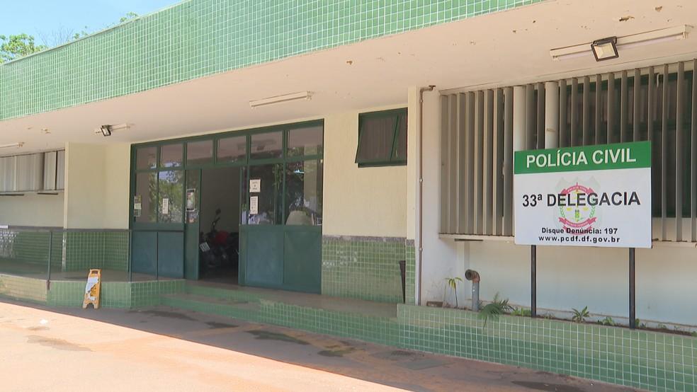 33ª DP no Distrito Federal — Foto: TV Globo/Reprodução