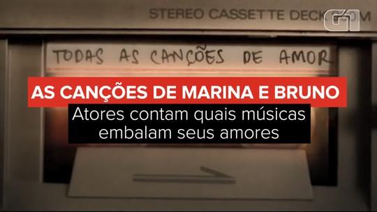 Marina Ruy Barbosa e Bruno Gagliasso 'ensaiam' par de novela em filme por 'coincidência'