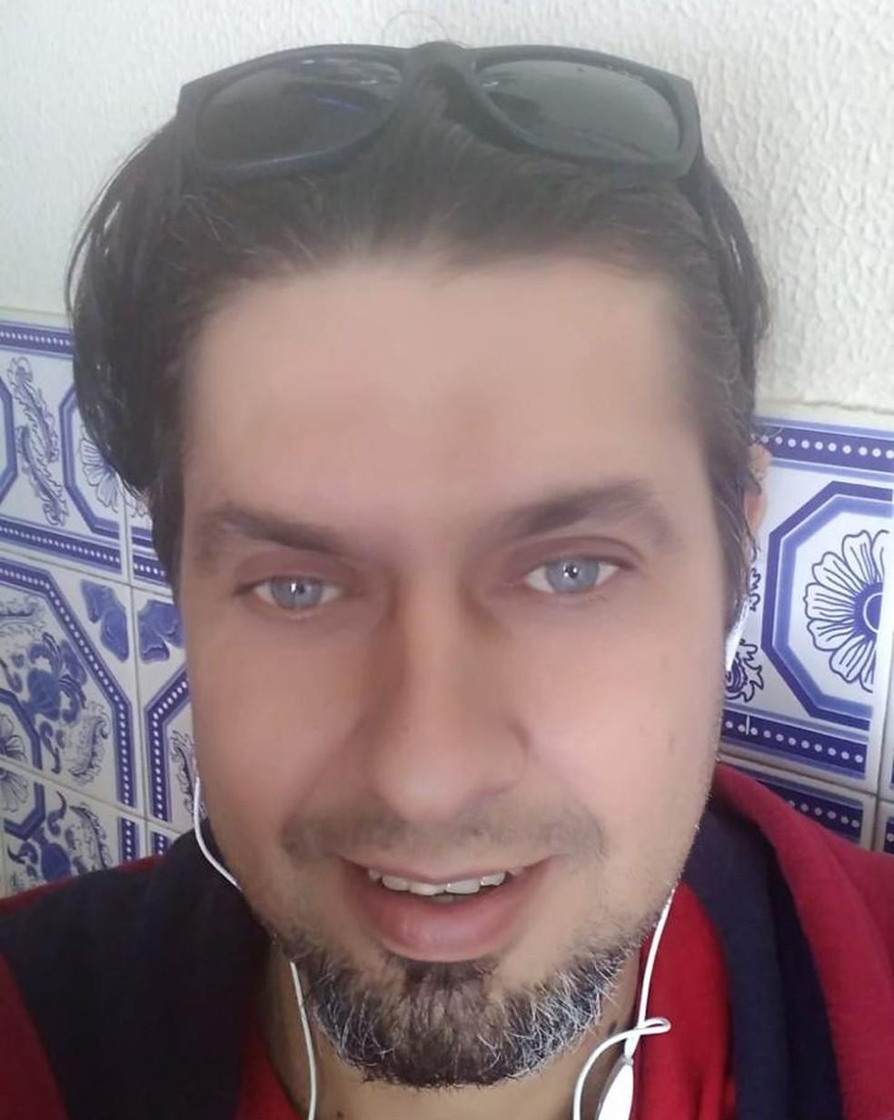 Mecânico foi localizado inconsciente em um hospital universitário em Marrocos, segundo a Embaixada brasileira.  — Foto: Arquivo Pessoal