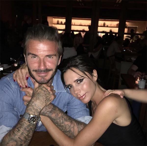 David Beckham e Victoria Beckham (Foto: Instagram)