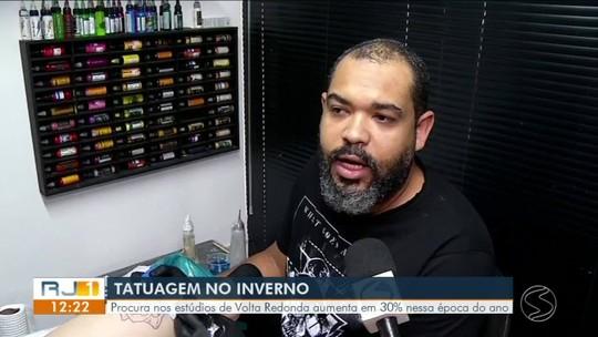 Tatuagens no inverno: procura aumenta 30% em Volta Redonda