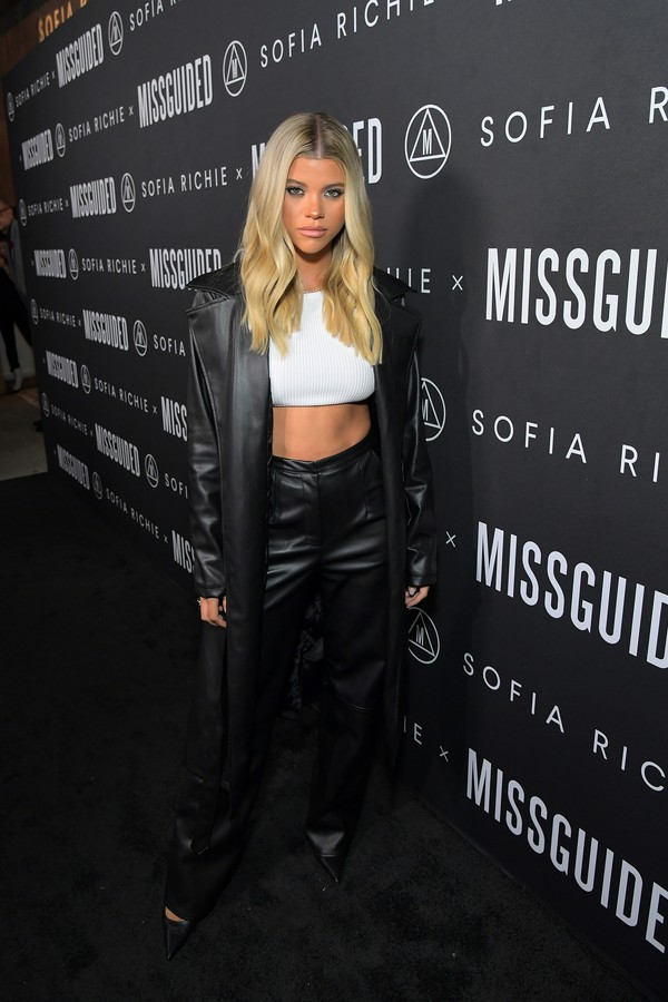 WEST HOLLYWOOD, CALIFORNIA - SEPTEMBER 18: Sofia Richie attends Sofia Richie x Missguided Launch Party at Bootsy Bellows on September 18, 2019 in West Hollywood, California. (Photo by Charley Gallay/Getty Images for Missguided) (Foto: Getty Images for Missguided)