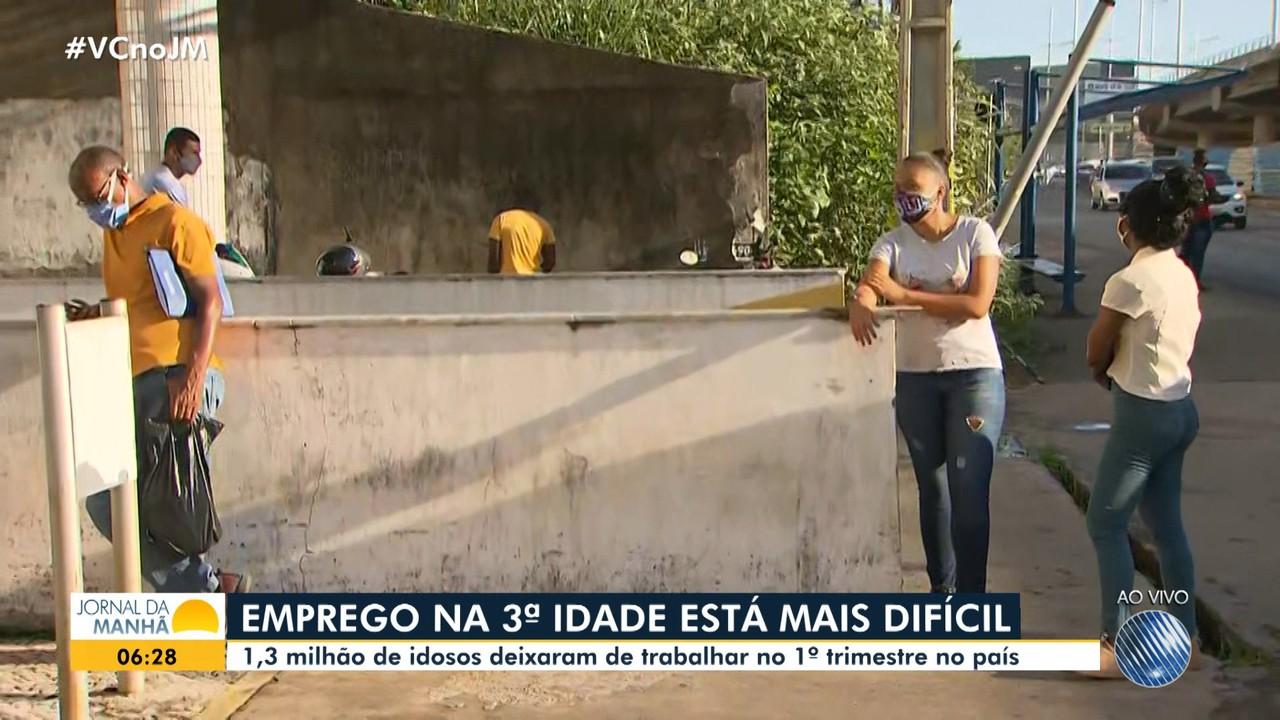 Taxa de desemprego entre mais velhos tem aumento no Brasil; baianos vivem esse problema