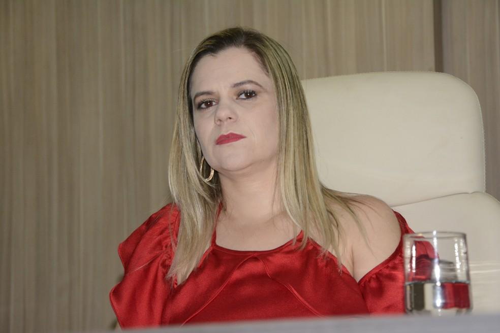 Cinthia Paula de Lima é a nova diretora da Dracco no Tocantins — Foto: Dennis Tavares/Governo do Tocantins