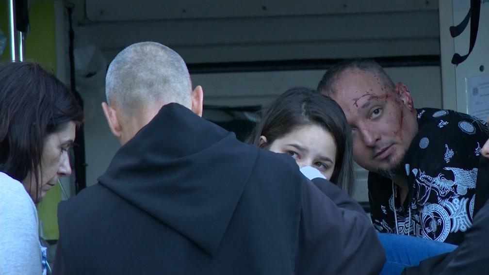 Feridos em tragédia na BR-101, no Espírito Santo (Foto: Reprodução/ TV Gazeta)