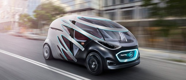 Mercedes Vision Urbanetic na CES 2019