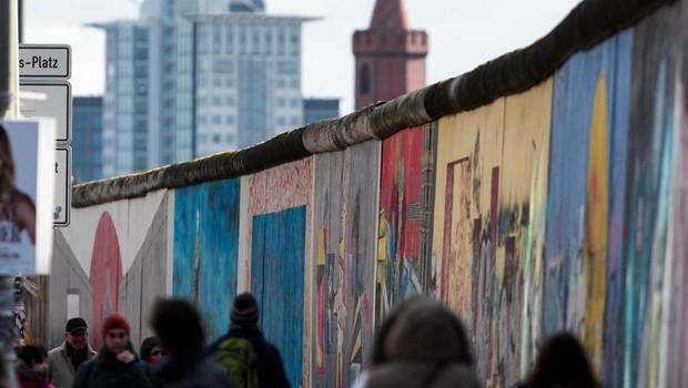 Muro de Berlim, na Alemanha (Foto: Carsten Koall/Getty Images)