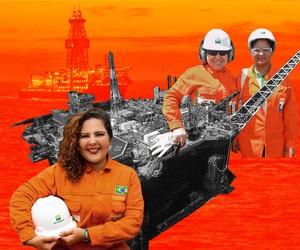 Em alto-mar ou terra firme, petroleiras enfrentam solidão, assédio e precarização