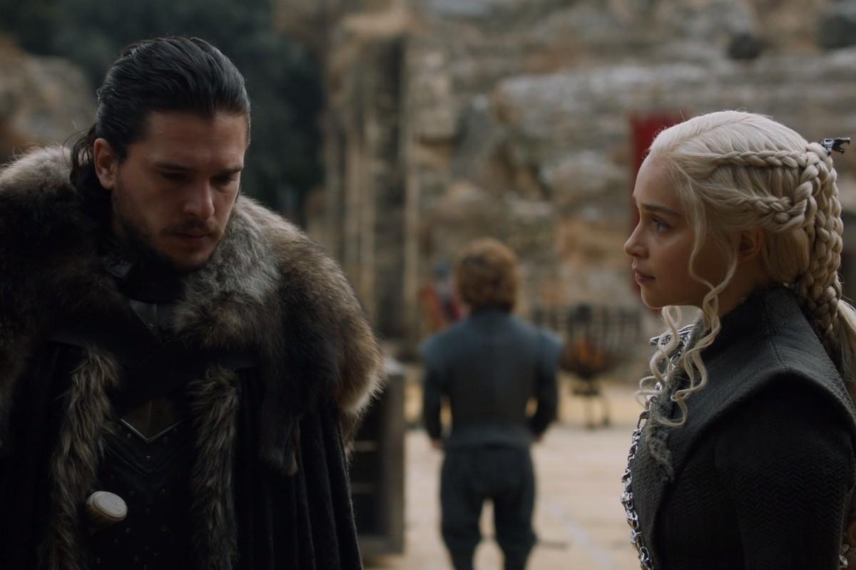 Game of Thrones: Jon Snow e Daenerys Targaryen (Foto: Divulgação/HBO)