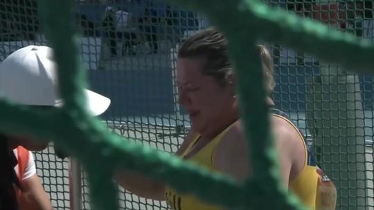 Beth Gomes quebra recorde pela terceira vez e conquista ouro no Mundial de Atletismo Paralímpico