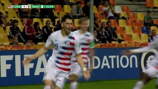 Com dois gols de Soto, Estados Unidos vence Nigéria na segunda rodada do Mundial sub-20