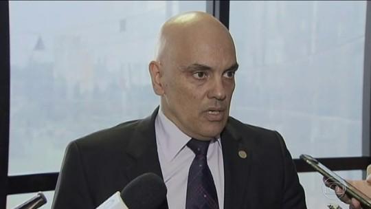 Moraes diz que inquérito sobre ameaças ao STF será aberto e conduzido por ele