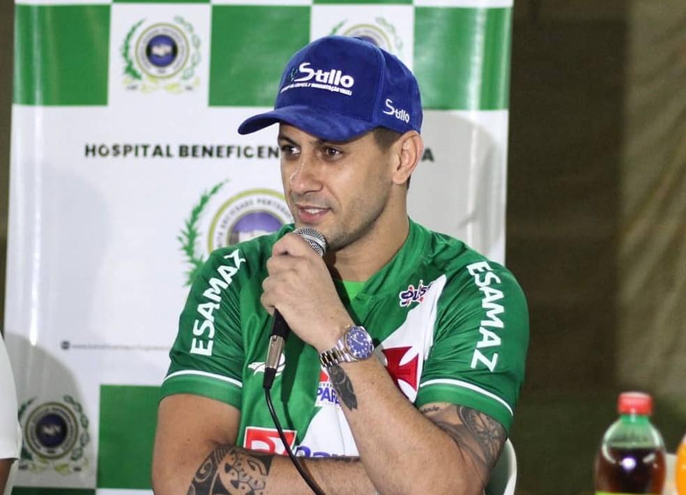 Apresentação Eduardo Ramos Tuna Luso — Foto: Matheus Vieira/Ascom Tuna Luso Brasileira