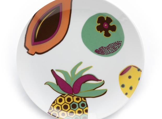 Conjunto de pratos Xocotl, de Marcela Marcos para SAMBAQUI (Foto: Divulgação)
