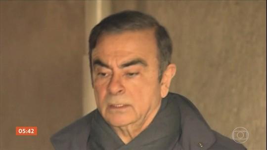Executivo brasileiro Carlos Ghosn volta a ser preso em Tóquio