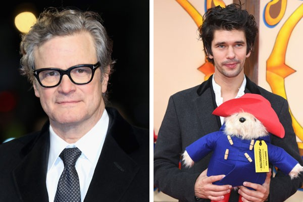 Colin Firth e Ben Whishaw (Foto: Getty Images)
