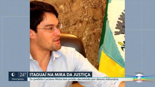 Justiça determina a prisão preventiva do ex-prefeito de Itaguaí Luciano Mota