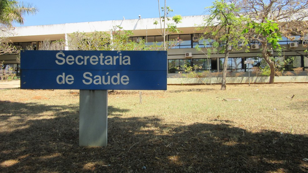 Secretaria de Saúde do Distrito Federal — Foto: Raquel Morais/G1