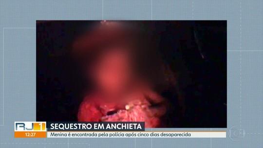 Menina de 5 anos é encontrada depois de ser sequestrada pela namorada do tio