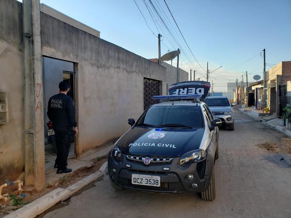 Operação Pantaneira em Sorriso — Foto: Polícia Civil de Sorriso/Divulgação