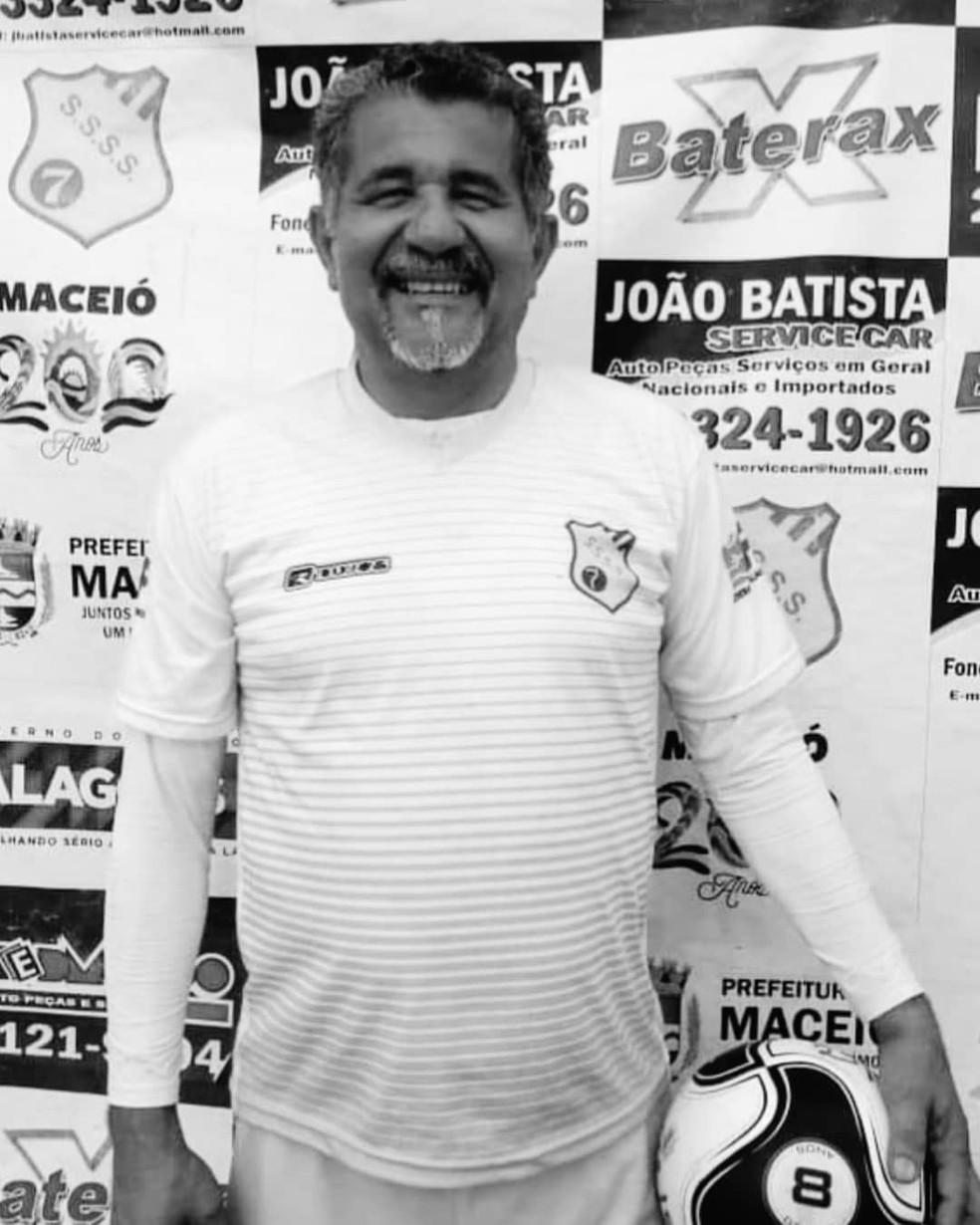 João Batista, ex-presidente do Sete de Setembro — Foto: ASCOM Federação Alagoana de Futebol