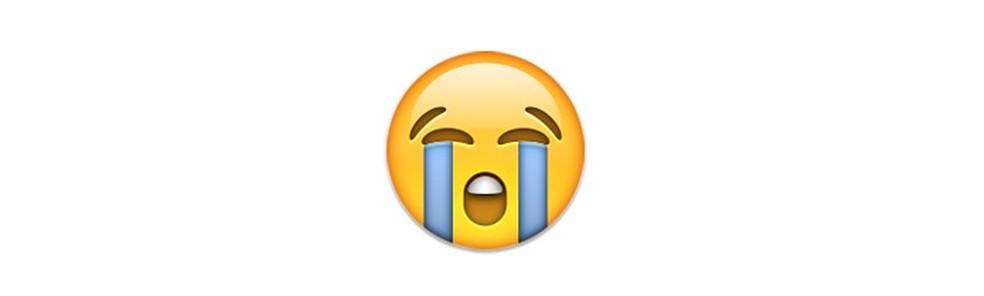Choro de tristeza ou para momentos de ironia — Foto: Reprodução/TechTudo