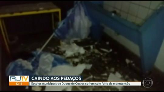 Creche e escolas de Caxias sofrem com inundações e falta de manutenção
