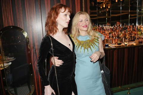 Karen Elson e Courtney Love
