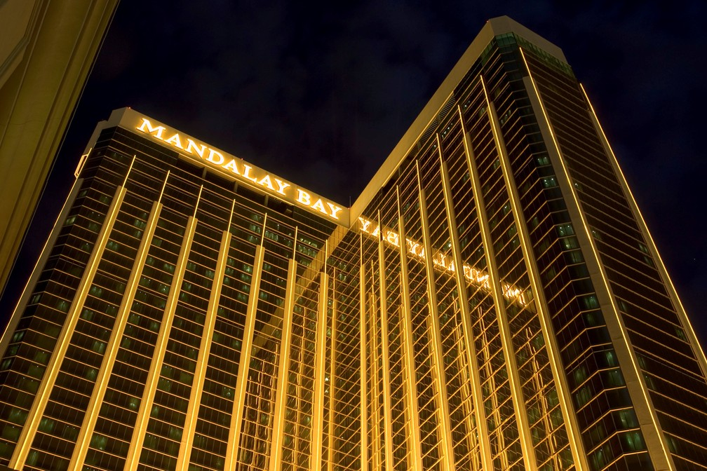 Foto de arquivo mostra o resort e cassino Mandalay Bay em Las Vegas, Nevada (15/06/2004) (Foto: Ethan Miller/Reuters)