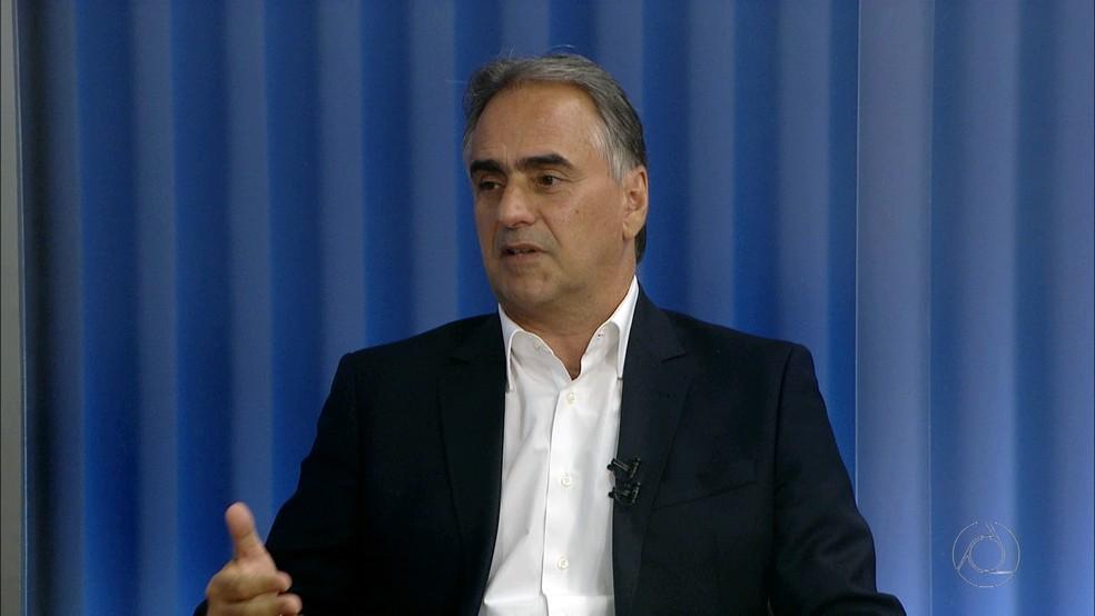 Lucélio Cartaxo foi candidato ao Governo do Estado nas Eleições 2018 — Foto: TV Cabo Branco/Reprodução