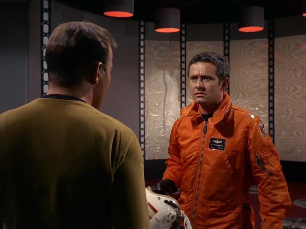 -  Roger Perry em   39;Star Trek  39;  Foto: Divulgação