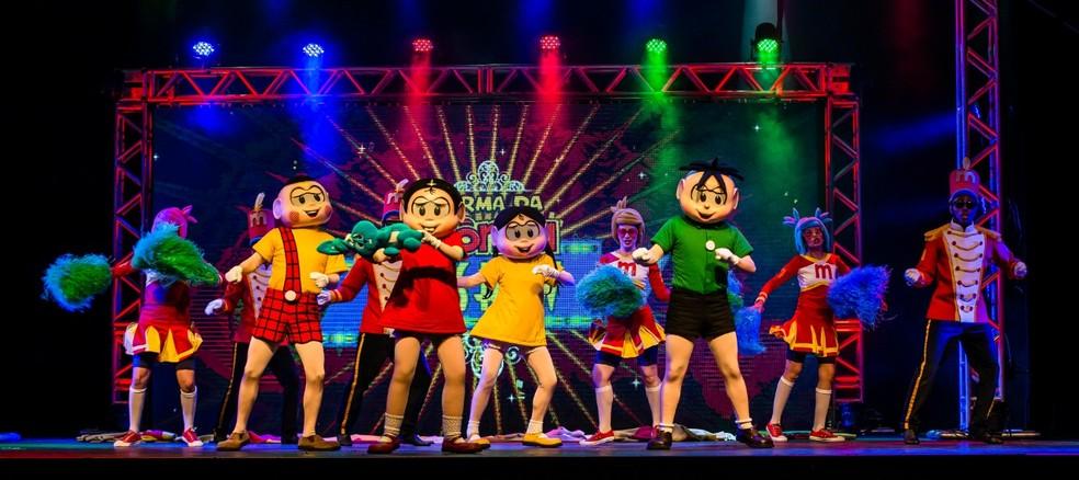 Espetáculo 'Turma da Mônica - Show e Cine Gibi' será realizado em Salvador — Foto: Divulgação