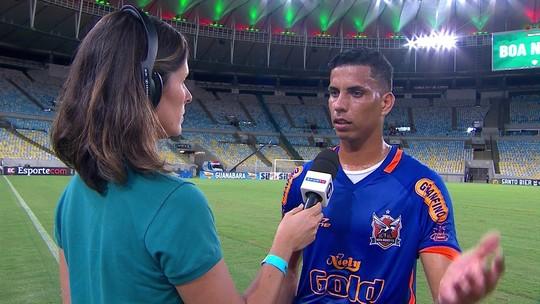 Iuri Pimentel diz que Nova Iguaçu segurou o jogo para não correr risco de sofrer mais gols